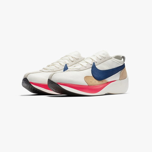Nike: Moon Racer QS (Sail/Gym Blue/Solar Red)