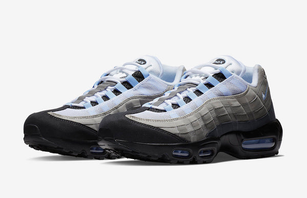 Nike: Air Max 95 (Black/Aluminum)