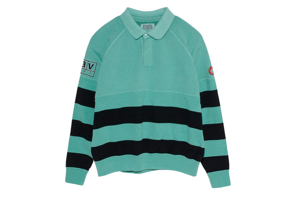 Cav Empt: Stripe Collared Sweat