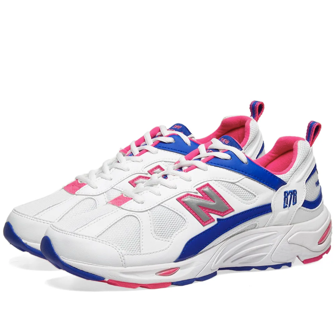 finest selection 0905d 9c0a8 New Balance: 878 (White/Pink/Blue)