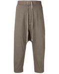 Rick Owens DRKSHDW: Drawstring Cropped Pants (Dust)