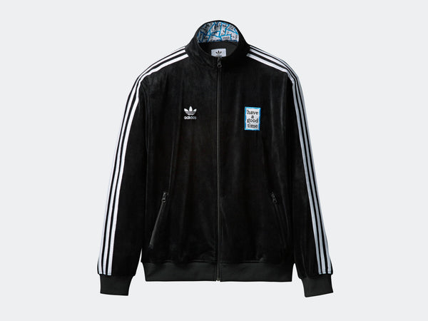 Adidas by Have a Good Time: Velour Track Top Adidas by Have a Good Time - Nowhere