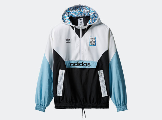 Adidas by Have a Good Time: Pullover Windbreaker Adidas by Have a Good Time - Nowhere