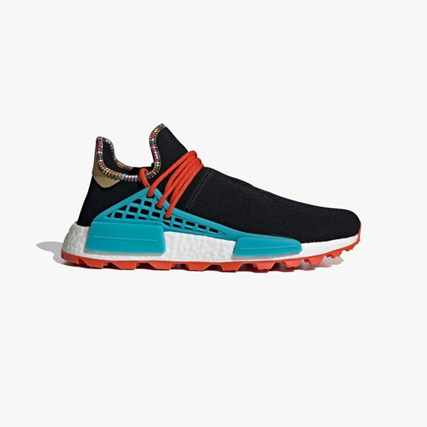 Adidas by Pharrell: SolarHU NMD (Black) Adidas by Pharrell Williams - Nowhere