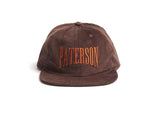 Paterson: Euro Gap Corduroy Hat (Brown)