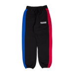 PLEASURES: Split Colour Sweatpant (Black) PLEASURES - Nowhere
