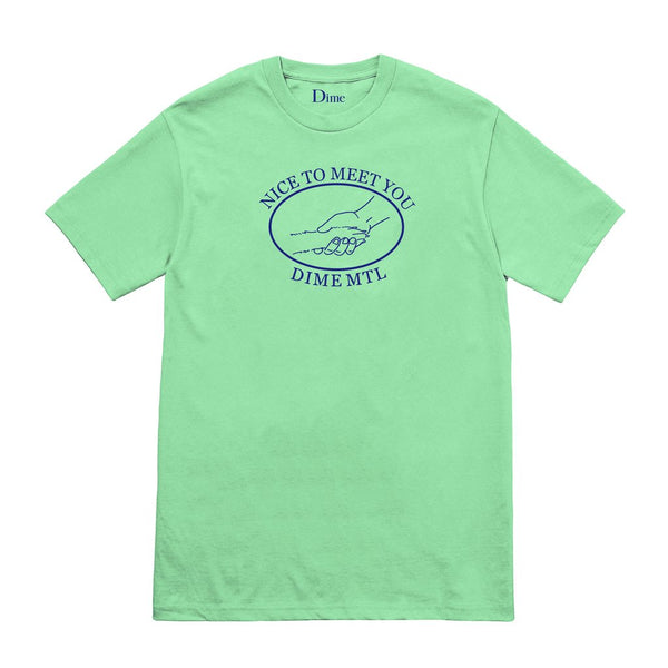 Dime: Greetings Tee (Mint Green) Dime - Nowhere