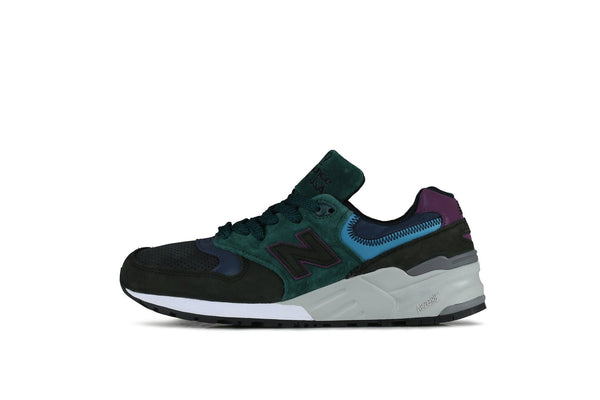 New Balance: 999 (Black/Teal) New Balance - Nowhere