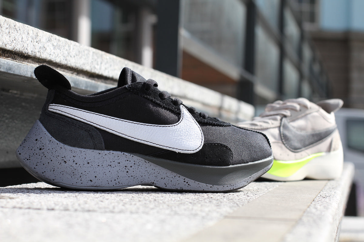 on sale bf821 296c4 Nike  Moon Racer (Black Wolf Grey) – Nowhere