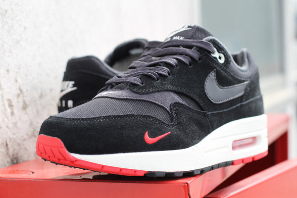 Nike: Air Max 1 Premium (Black/Red) Nike - Nowhere