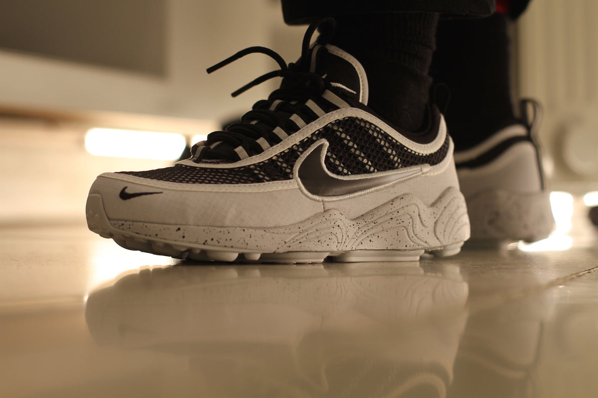 5d0e156cb5e32 Nike  Air Zoom Spiridon  16 SE (Pure Platinum Black Wolf Grey) – Nowhere