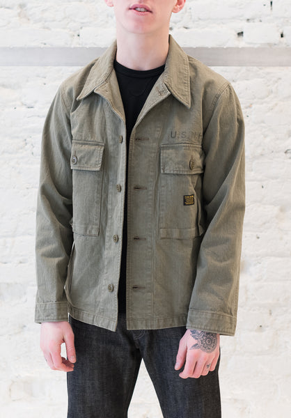 Neighborhood: Military Utility Shirt (Olive Drab) Neighborhood - Nowhere