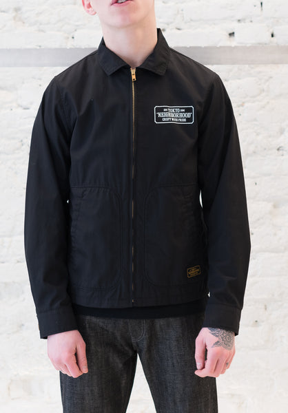 Neighborhood: Drizzler Jacket (Black) Neighborhood - Nowhere