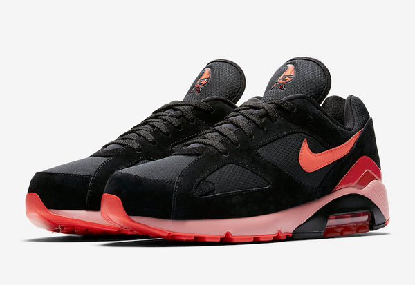 Nike: Air Max 180 (Black/Team Orange/University Red) Nike - Nowhere
