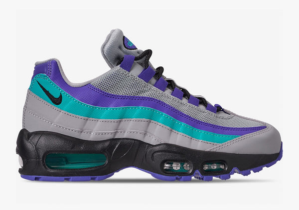 Nike: Air Max 95 OG (Wolf Grey/Hyper Jade) Nike - Nowhere