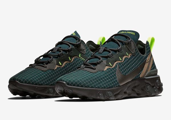 Nike: React Element 55 (Armory Navy)