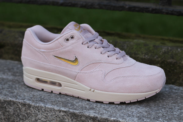 new product 7ff26 7eae2 Nike  Air Max 1 Premium SC (Particle Rose Metallic Gold Desert Sand