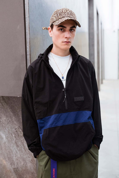 Perks and Mini: Odyssey Track Top (Black/Navy)