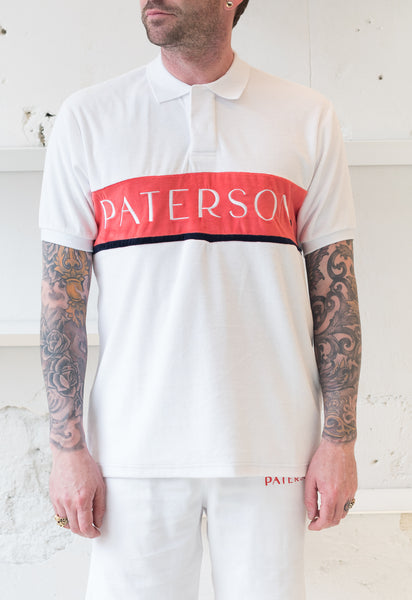 Paterson: Line Weight Polo (White) Paterson - Nowhere