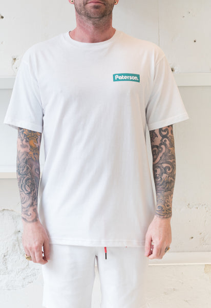 Paterson: Puleo Cut Out Tee (White) Paterson - Nowhere
