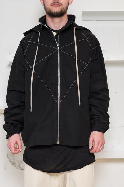 Rick Owens DRKSHDW: Hexagram Flight Jacket Rick Owens DRKSHDW - Nowhere