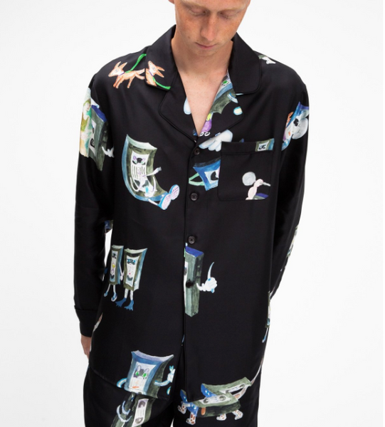 Soulland: Rickman Silk Shirt