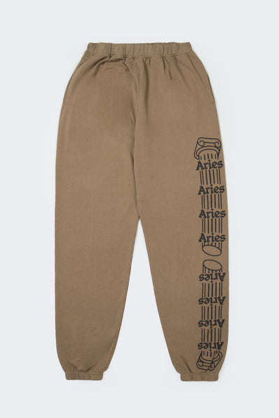 Aries: Column Sweatpants (Khaki/Black) Aries - Nowhere