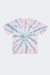 Aries: Go Your Own Way Tie Dye Tee (Green/Pink) Aries - Nowhere