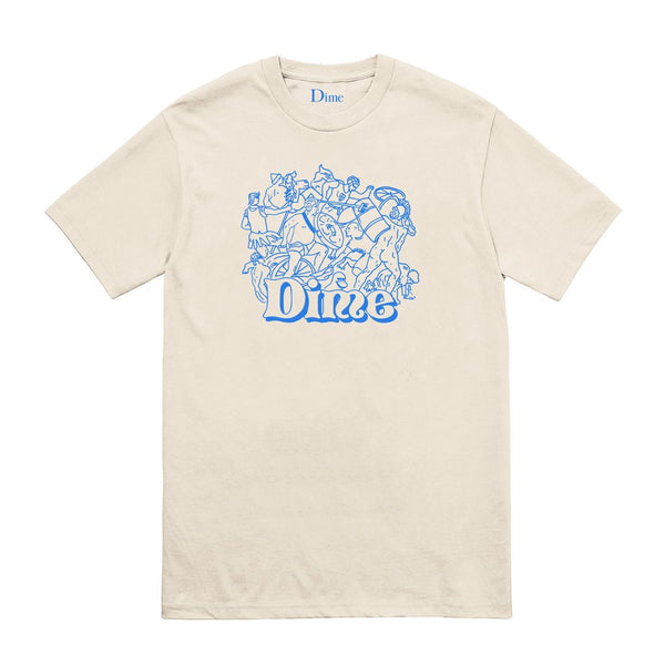 Dime: Speakeasy Tee (Cream) Dime - Nowhere