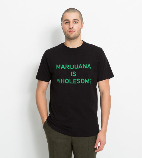 Soulland: Malky Tee (Black) Soulland - Nowhere