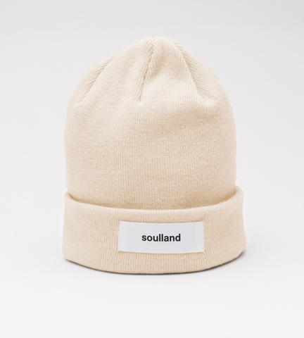 Soulland: Villy Beanie (Cream) Soulland - Nowhere