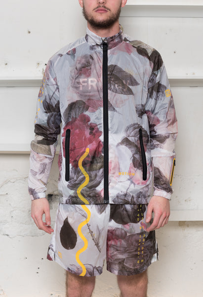 Soulland Meets 66°North: Flower Print Running Jacket Soulland - Nowhere