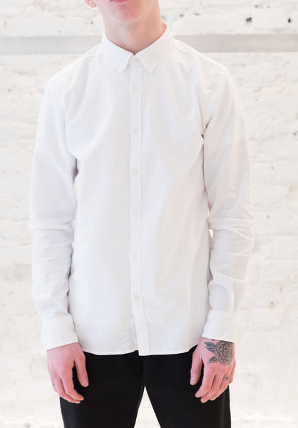 Soulland: Goldsmith Shirt (White) Soulland - Nowhere