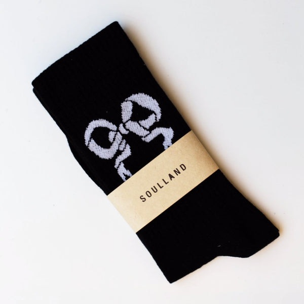 Soulland: Tennis Socks (Black) Soulland - Nowhere