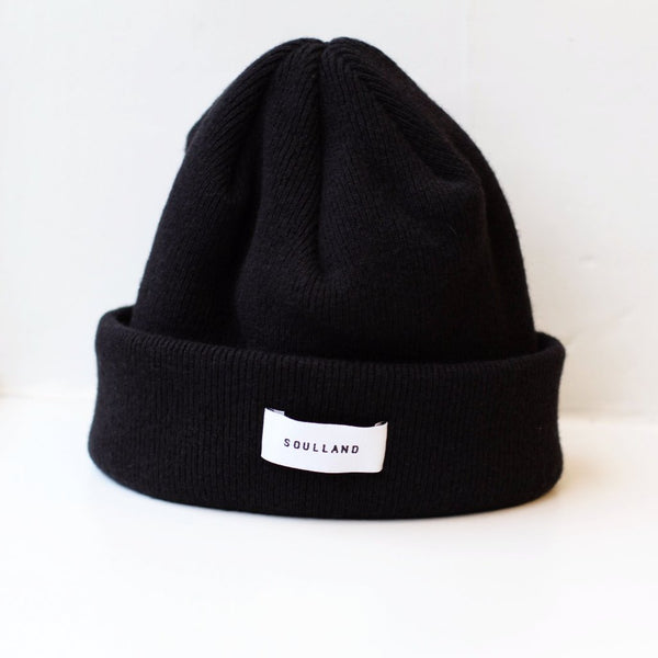 Soulland: Villy Beanie (Black) Soulland - Nowhere