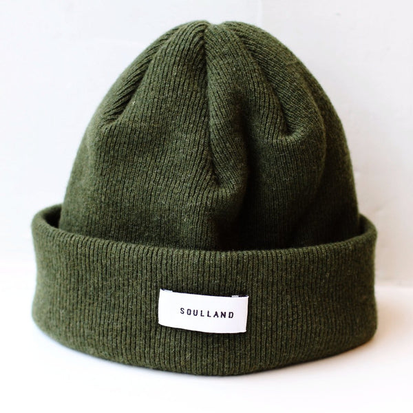 Soulland: Villy Beanie (Dark Green) Soulland - Nowhere