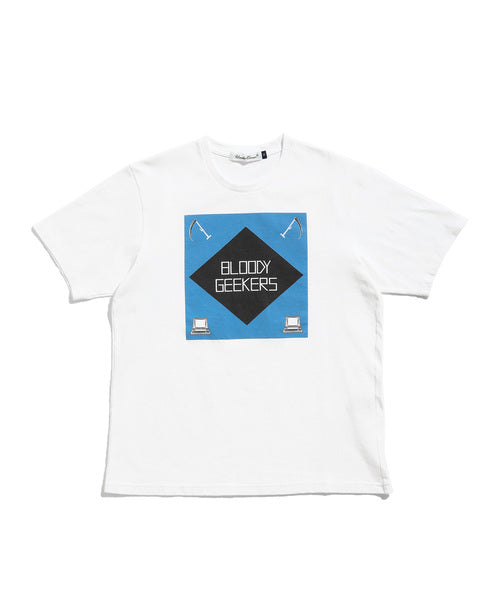 Undercover: Bloody Geekers Tee (White)