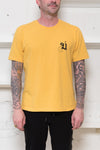 Undercover: Back Logo Tee (Mustard) Undercover - Nowhere