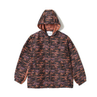 White Mountaineering: Woven Jacket Original Noise Pattern Jacquard