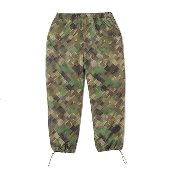 White Mountaineering: Original Mosaic Camo Printed Wide Pant