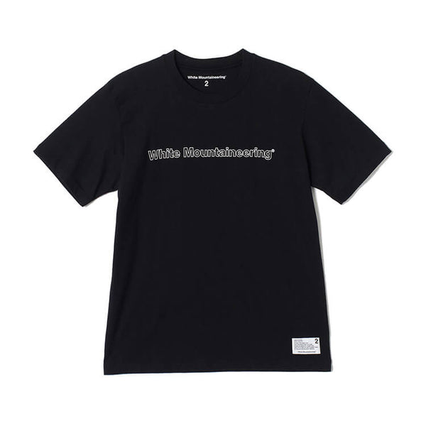White Mountaineering: Printed Tee White Mountaineering (Black)