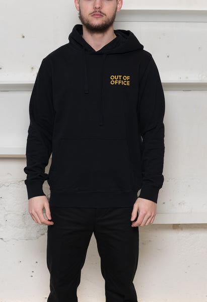 "Wood Wood: Fred ""Out of Office"" Hoodie Wood Wood - Nowhere"