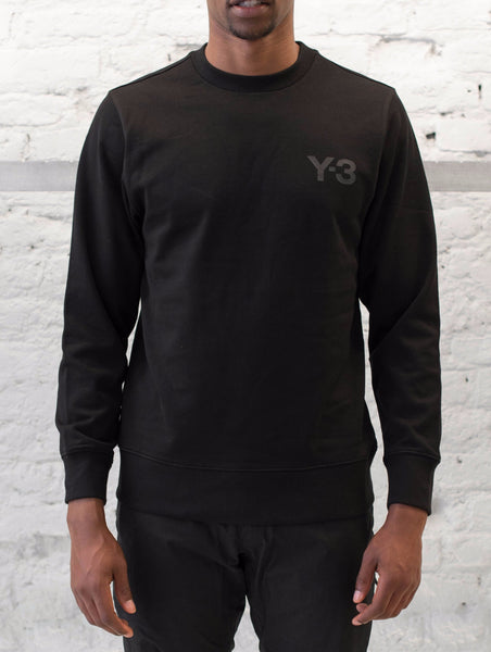 Y-3 MCL Sweater Front Black