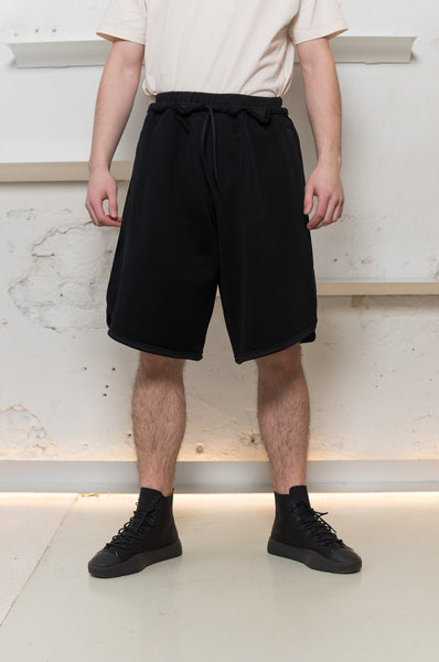 Y-3: Mesh 3 Stripe Shorts Y-3 - Nowhere