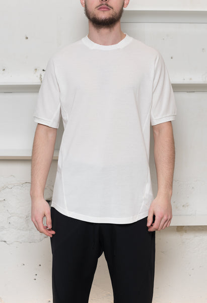 Y-3: 3D Pique Tee (White) Y-3 - Nowhere
