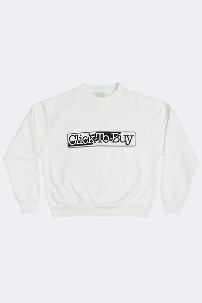 Aries: Click to Buy Sweat (White) Aries - Nowhere