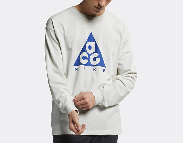 Nike ACG: L/S Tee (Summit White/Racer Blue)