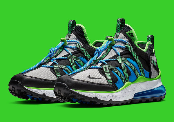 Nike: Air Max 270 Bowfin (Black/Phantom Blue) Nike - Nowhere