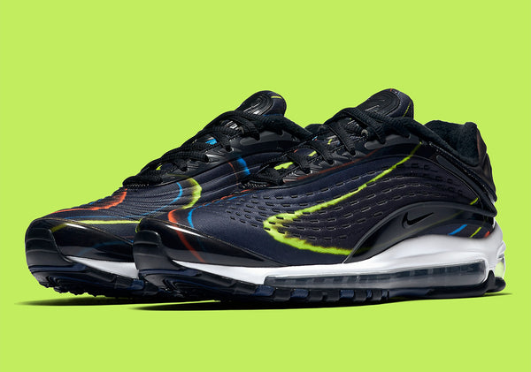 Nike: Air Max Deluxe (Black/Midnight Navy) Nike - Nowhere