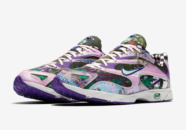 Nike: Zoom Streak Spectrum Plus Premium (Court Purple/LT Poison Green) Nike - Nowhere